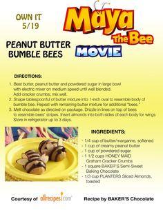 Maya The Bee Recipes!