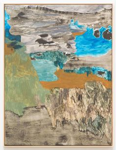 Andreas Eriksson Landskap, 2014, Oil on canvas, 145 x 110cm, (57 x 1/8 x 43 3/8in)