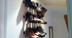 Shoes_High Heels Organizer System_So easy. So simple. Keep those shoes off the floor!