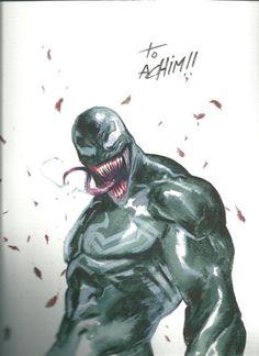 Venom - Gabriele Dell'otto Comic Art