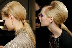 Take a glimpse at those gorgeous and stunning ponytail hairstyles which are so trendy in 2012 and come in various styles as; low, high, wrapped ponytails, etc.
