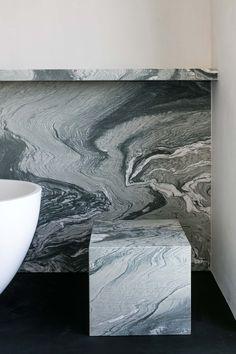 "Verde Saint Laurant ""architect: Merijn Degraeve"" – Graniet & marmer"