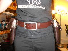 DIY Steampunk Gun Holsters