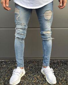 WEBSTA @ khurshednuriddinov - Blue Distressed Jeans Available online! @loyalkids_de #LKDS
