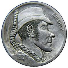 James Stewart Hobo Nickel, Antique Coins, Making Out, Jewelry Collection, Buffalo, Classic Style, Carving, Scrapbook, Personalized Items