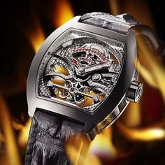 Watch of the day : Antoine Preziuso The Art Of Tourbillon Black Devil   #watch #watches #luxury #watchporn #luxurywatch #wiwt #watchoftheday #antoinepreziuso #WOTD