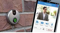 Avoid Your Neighbors with iDoorCam - iDoorCam is a simple device with a camera and a button that pretty much takes the place of your doorbell. Only works with iPhone and iPad. Would be more awesome if you could use this for an Android too!