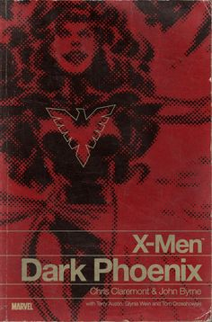 Paperback Book Cover = Dark Phoenix.