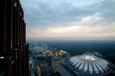 Panoramic Views - Panoramapunkt Berlin