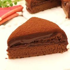 Pastry Recipes, Cake Recipes, Steam Cake Recipe, Ogura Cake, A Food, Food And Drink, Steamed Cake, Japanese Sweets, Chocolate Fudge