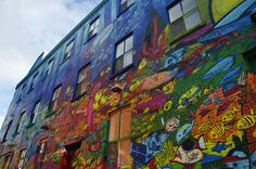 All Over The Wall by Stephanie Kirby, via 500px