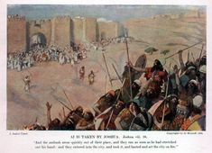 othniel judge of israel | spies the seven trumpets of jericho the taking of jericho