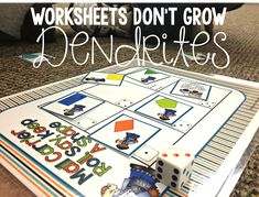 Why hands on activities are so much better and less boring than worksheets.