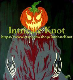 Folk Art / Primitive / Recycled / Cardboard Art  by IntricateKnot, $25.00