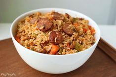 Easy Sausage Jambalaya Recipe on Yummly. @yummly #recipe