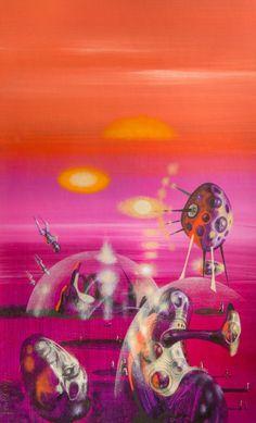 70s Sci-Fi Art. Richard Powers