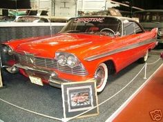 1958 Plymouth Fury Christine Movie Car... I loved my truck as much as arnie loved Christine