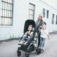 Most triple strollers are made for three kids the same age (i.e. ...
