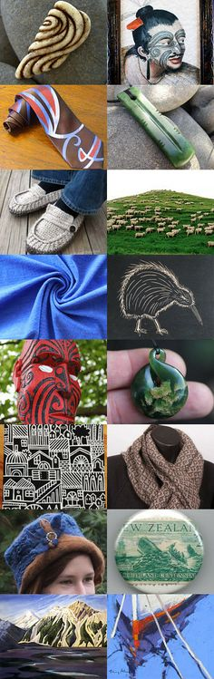 New Zealand Collection by Maureen Modlish on Etsy Living In New Zealand, Kiwiana, All Things New, My Roots, New Zealand Travel, Wanderlust Travel, Kitsch, Bro, Pride