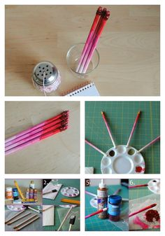 Ombre Pencils | 40 DIY Valentine's Day Gifts They'll Actually Want