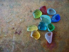 Genuine sea glass rare.