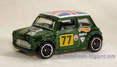 Mattel Hot Wheels Mini Cooper Malaysia Decals 2014