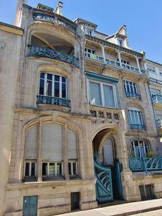Ville de Nancy - Maison art nouveau  Proposé par Gilles Boncourt