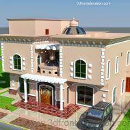 تصميمات منازل حديثة Online Home Design, Online Interior Design Services, 3d Home Design, Home Room Design, House Floor Design, Home Design Floor Plans, Bungalow House Design, Modern House Design, House 3d Model