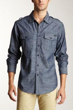 Burnout Shirt by RVCA Men