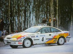 The one and only Works Opel Calibra Turbo 16V 4x4 Gr.A  Stig Blomqvist