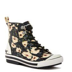 Rainy Flower Rubber Rain Boots