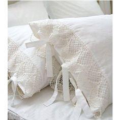 cotton lace pillowcase