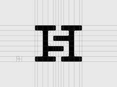 27 hs hamidrezasohrabi Letter H Logo Design Inspiration - Graphic Templates S Logo Design, Circle Logo Design, Vintage Logo Design, Branding Design, Logo Branding, Typography Logo, Lettering, Monogram Logo, Logo Inspiration