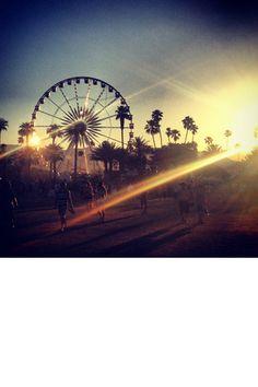 Ferris wheel at Coachella