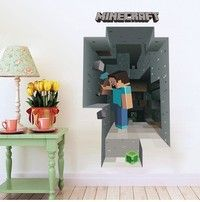 I think you'll like Emei MineCraft WallPaper Classical 3D Mine Sticker Living Room Kids Party Decoration. Add it to your wishlist! http://www.wish.com/c/54f5309151a4820c1c291681