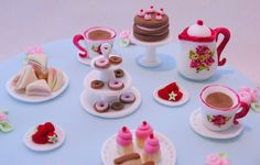 Afternoon Tea Party Birthday Cake | Flickr - Photo Sharing!