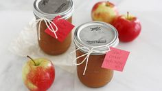Extend apple season with this easy apple butter recipe from Blogger Stephanie Wise of  Girl versus Dough.