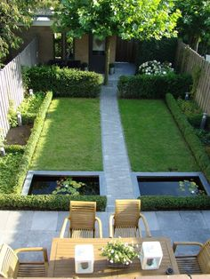 use of a small garden