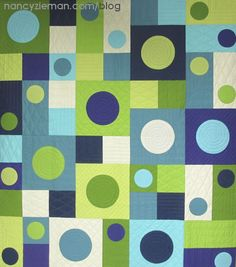 """Circle Appliques That Make """"Wow"""" Quilts by Nancy Zieman/Sewing With Nancy"""