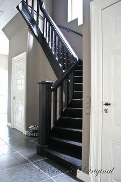 Black stairs. Love it!