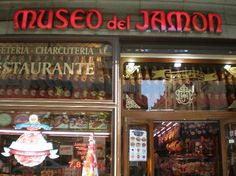 Museo del Jamon. (Museum of ham!) Good for an easy lunch or dinner. Crowded. Cool fun area of town.