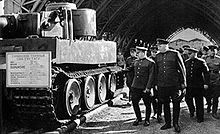Marshal Georgy Zhukov inspecting a Tiger captured by the Red Army in 1943.  Tiger I - Wikipedia, the free encyclopedia