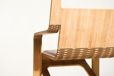 The Aviator Chair is a challenge to create the worlds first flat folding luxury leather arm chair from a single piece of material with no joinery. Created primarily as a personal design challenge, this chair concept explores ideas of manipulating profile cut flat pieces into sustainable, beautiful and functional 3D