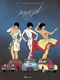 L'intégrale des trois premiers tomes de Margot sort ce jour en librairie. La trilogie Citroën-Bertoni en un seul volume ! Excellente idée ...