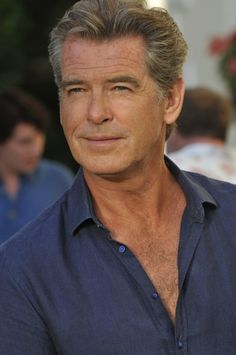 Pierce Brosnan - a man who helps my imagination fly!