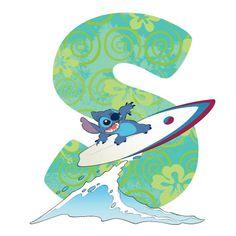 Disney Alphabet - S for Stitch | Disney Alphabet Printables | Printables | Disney Family.com