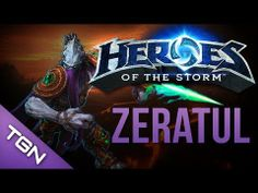 Heroes of the Storm : Zeratul Gameplay & Commentary - Plasma Grenades