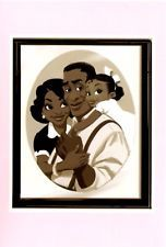DISNEY - Princess and the Frog - Tiana with James and Eudora - Postcard Disney Princess Tiana, Frog Princess, Disney Nerd, Disney Pixar, Disney Characters, Disney Artwork, Disney Drawings, Melody Little Mermaid, Fairy Queen