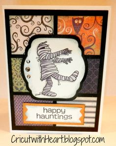 close to my heart halloween cards | ... one of the cards i am making with my card classes this month when
