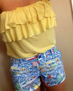 love those Lily shorts! super cute and fun summer outfit